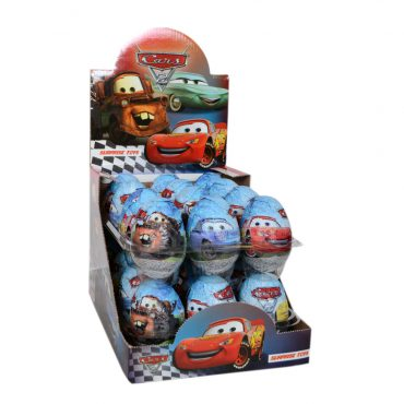 CARS 2 CHOCOLATE EGG