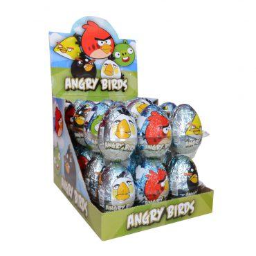 ANGRY BIRDS CHOCOLATE EGG