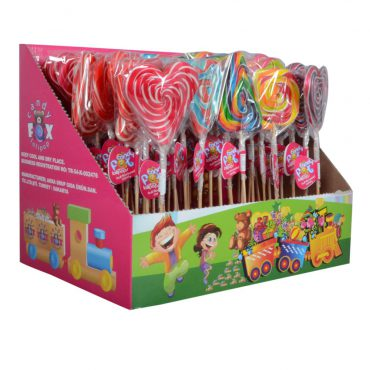 CANDY FOX LOLLIPOP (TRIANGLE & SQUARE)