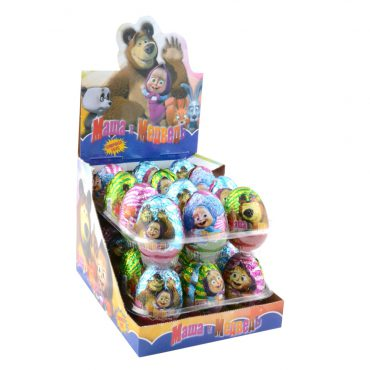 MASHA AND BEAR CHOCOLATE EGG
