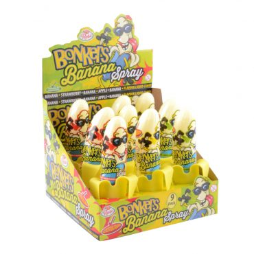 BONKERS BANANA SPRAY CANDY
