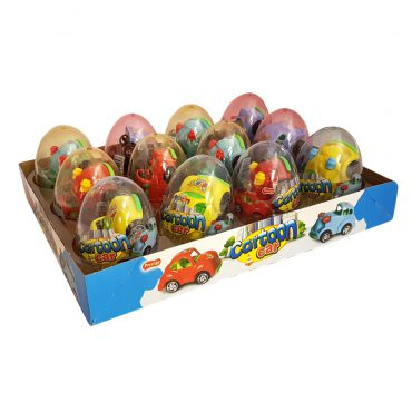 PRESTIGE CARTOON CAR PLASTIC EGG