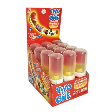 TWO TO ONE LEMON&STRAWBERRY POPS