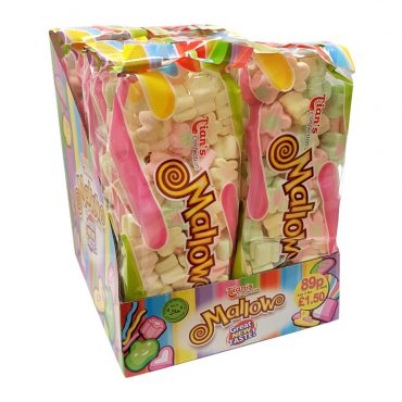 TIANS MARSHMALLOW STRAWBERRY&VANILLA FLAT BAG FLOWER