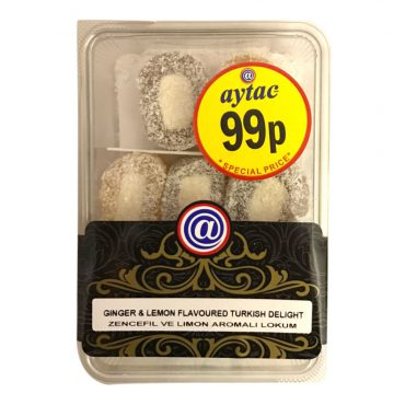 AYTAC TR DELIGHT GINGER&LEMON FLAVOURED