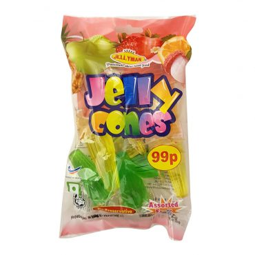 JM MIXED FLAVOUR JELLY CONES