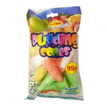 JM MIXED FLAVOUR PUDDING CONES
