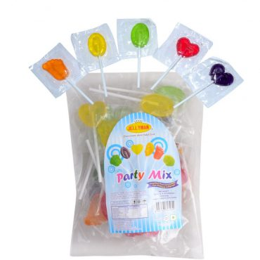 JELLYMAN PARTY MIX LOLLIPOPS
